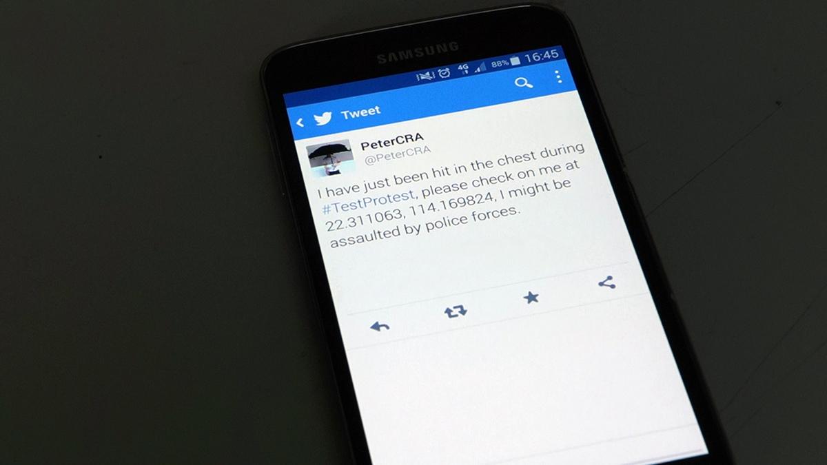 A tweet from a CRA