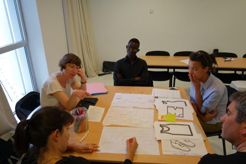 Participants' brainstorming